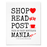 shop [Love heart]  read [Feet]  post [Cup]  this is chic boutique mania [Electric guitar]   shop [Love heart]  read [Feet]  post [Cup]  this is chic boutique mania [Electric guitar]   Photo Enlargements