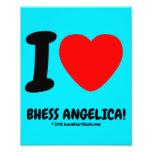 i [Love heart]  bhess angelica! i [Love heart]  bhess angelica! Photo Enlargements
