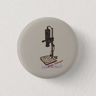 Photo Enlarger. Good Old Days. Button