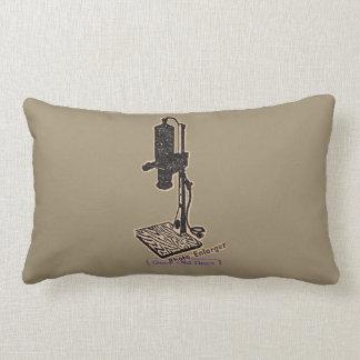 Photo Enlarger. Good Old Days. Lumbar Pillow