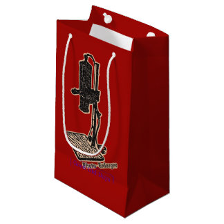 Photo Enlarger. Good Old Days. Small Gift Bag