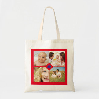 Photo Ensemble Collage Any Color Background Tote Bag