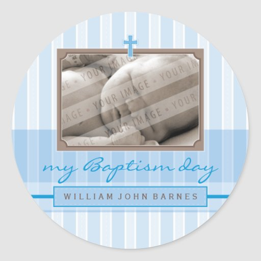 PHOTO EVENT LABELS :: stylishly 4 Classic Round Sticker