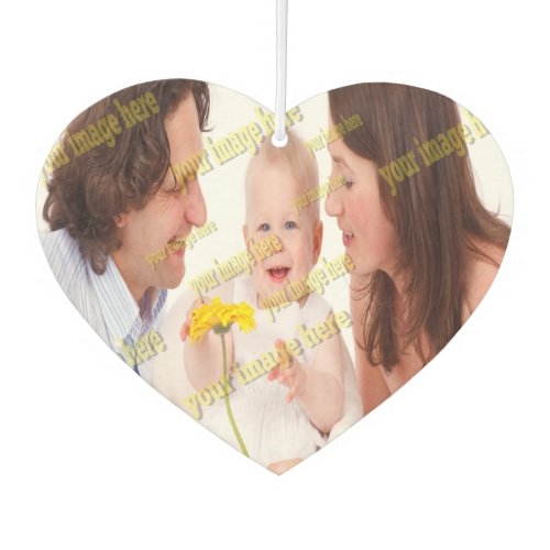 Photo Family Budget Template Air Freshener