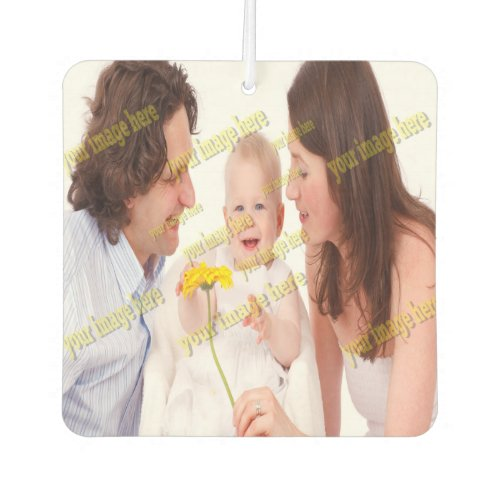 Photo Family Budget Template Car Air Freshener