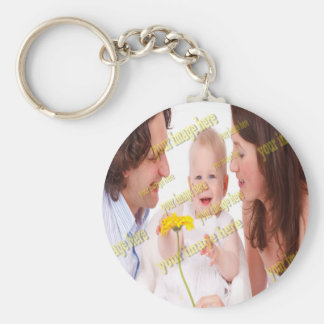 Photo Family Budget Template Keychain