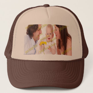 Photo Family Budget Template Trucker Hat
