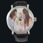 "Photo Family Budget Template Wrist Watch<br><div class=""desc"">Photo Family Budget Template</div>"