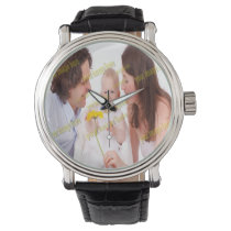 Photo Family Budget Template Wrist Watch