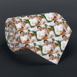"Photo Family Personalized Neck Neck Tie<br><div class=""desc"">Add Your Photo</div>"