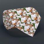 "Photo Family Personalized Neck Neck Tie<br><div class=""desc"">Add Your Photo</div>"
