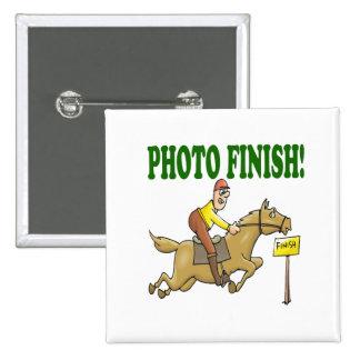 Photo Finish 2 Pinback Buttons