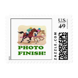 Photo Finish Stamp