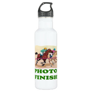 Photo Finish Stainless Steel Water Bottle