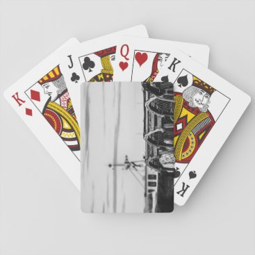 photo fishing vessel playing cards