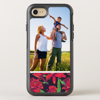 Photo Flowers And Hummingbirds OtterBox Symmetry iPhone 7 Case