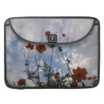 Photo - Flowers, forest and sky MacBooks 用スリーブ