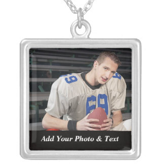 Photo Football Sports Necklaces