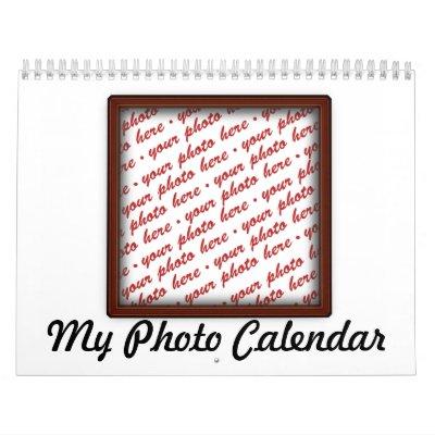 Photo Frame Calendar Calendar