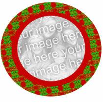 Photo Frame Christmas Ornament - Customized