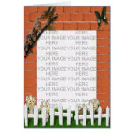 Photo Frame Easter Greetings Greeting Card