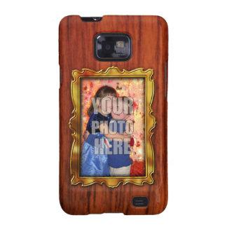Photo Frame Gold Samsung Galaxy S2 Case