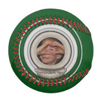 Photo Frame Personalizable Template Baseball