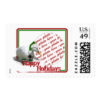 Photo Frame Postage  for the Christmas Holiday Postage Stamps