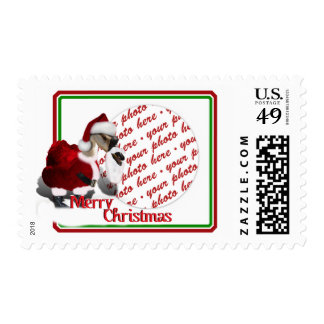 Photo Frame Postage  for the Christmas Holiday Stamp