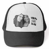 Photo Frame Trucker Hat