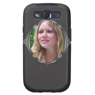 Photo frame with tribal look. galaxy SIII cases