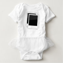 photo frames baby bodysuit