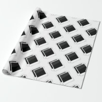photo frames wrapping paper