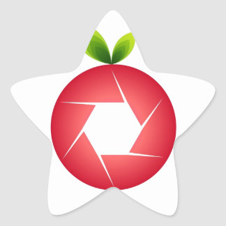Photo Fruit Star Sticker