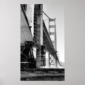 Photo - Golden Gate Bridge Poster