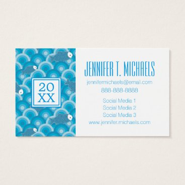Beach Themed Photo Graduation | Fish Business Card