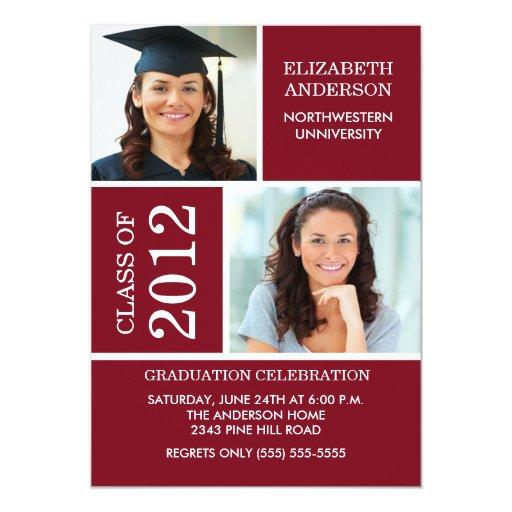 Custom Graduation Invitations is adorable invitation ideas