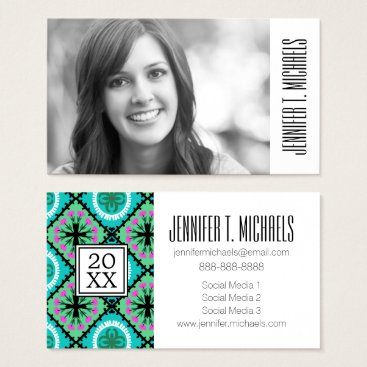 Aztec Themed Photo Graduation | Suzani With Uzbek & Kazakh Business Card
