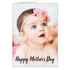 Photo Happy Mother's Day Card