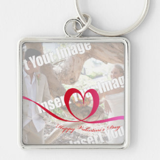 Photo Happy Valentine's Day Keychain