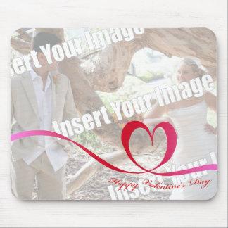 Photo Happy Valentine's Day Mouse Pad