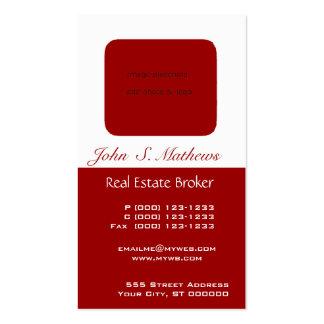Photo Holder Students & Realtors Business Card