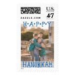 Photo Holiday Large Postage: Happy Hanukkah Postage Stamp