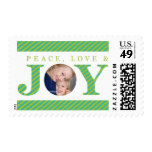 PHOTO HOLIDAY STAMPS :: peace love & joy 2