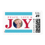 PHOTO HOLIDAY STAMPS :: peace love & joy 6