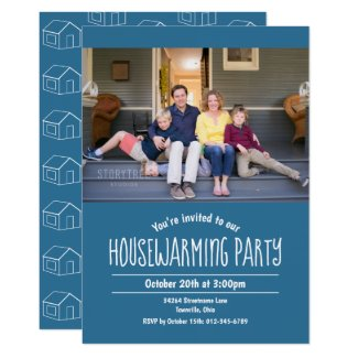 Photo Housewarming Invitation