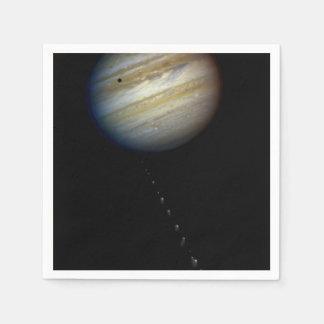Photo Illustration of Comet P:Shoemaker-Levy 9 & P Disposable Napkin