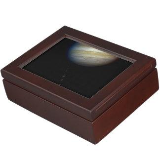 Photo Illustration of Comet P:Shoemaker-Levy 9 & P Memory Box