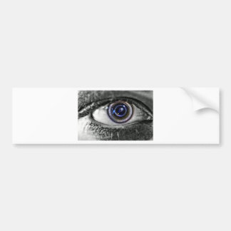 Photo Implant Bumper Sticker