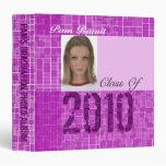 Photo Insert Graduation Photo Album 3 Binder